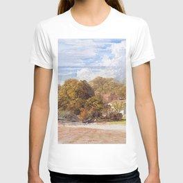 12,000pixel-500dpi - Samuel Palmer - Kensington Gardens - Digital Remastered Edition T-shirt