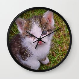 Extraordinary animals-Kitten Wall Clock
