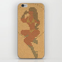 Push Pin Up iPhone Skin