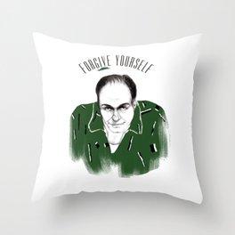 Forgive Yourself Throw Pillow