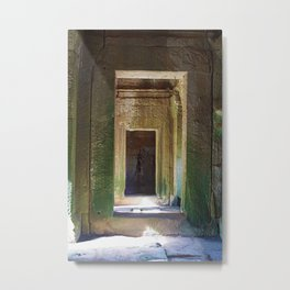Doorways Angkor Metal Print