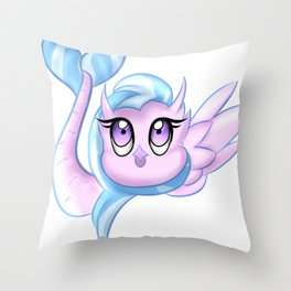 Silverstream Throw Pillow