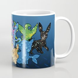 """The Dream Team"" - X & Y Eeveelutions Coffee Mug"
