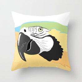 Guacamayo Throw Pillow