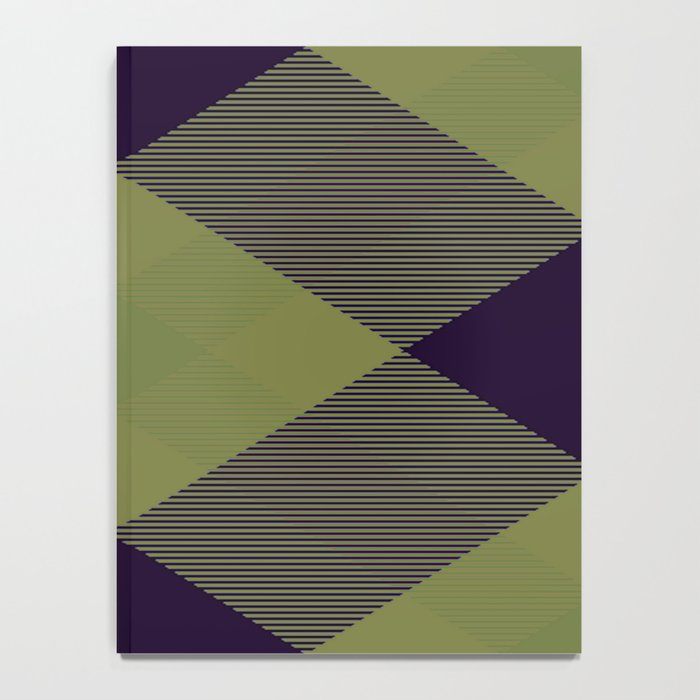 Tartan Pattern 2 Notebook