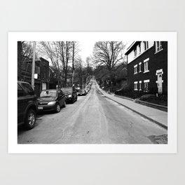 Off Queen - Willow Avenue - North Art Print