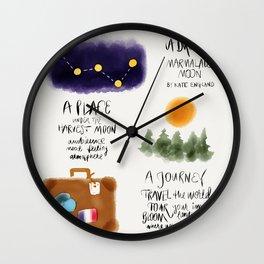Marmalade Mood Wall Clock