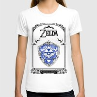 shield T-shirts featuring Zelda legend - Hylian shield by Art & Be