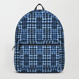 Blue Shibori Backpack