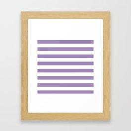 lavender stairs Framed Art Print