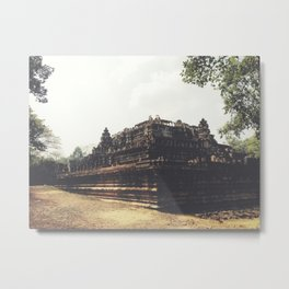 One of many majestic temples in Siem Reap Metal Print