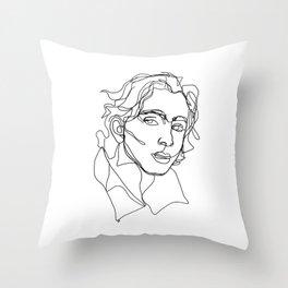 Timothée Chalamet Throw Pillow