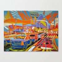 rio de janeiro Canvas Prints featuring Rio de Janeiro by J.Victtor