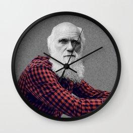 Hipster Darwin Wall Clock