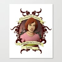 buffy the vampire slayer Canvas Prints featuring Willow - Buffy the Vampire Slayer by muin+staers