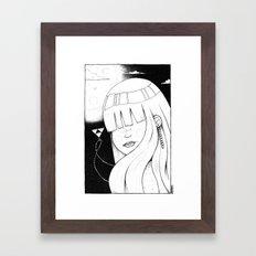Legend of Awesome Framed Art Print