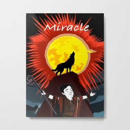 Miracle Metal Print