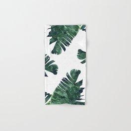 Banana Leaf Watercolor #society6 #buy #decor Hand & Bath Towel