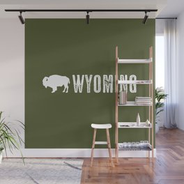 Bison: Wyoming Wall Mural