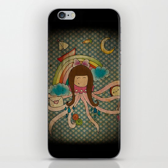 I'm A Little Octopus iPhone & iPod Skin