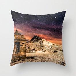 Deep Midwinter Throw Pillow