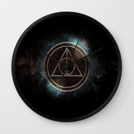 DEATHLY HALLOW POTTER Wall Clock