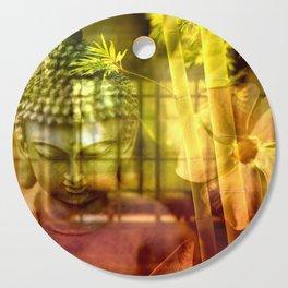 Zen & Spiritual Relaxation - Buddha & Bamboo Cutting Board