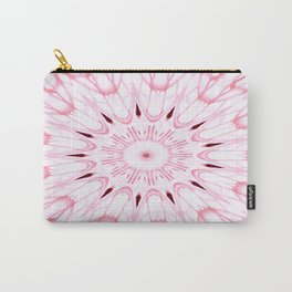 Rose Pink Mandala Explosion Carry-All Pouch