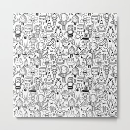 Cute monsters Metal Print