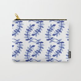 Blue Vines Carry-All Pouch