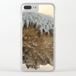 Sunflower Seed Harvest Clear iPhone Case