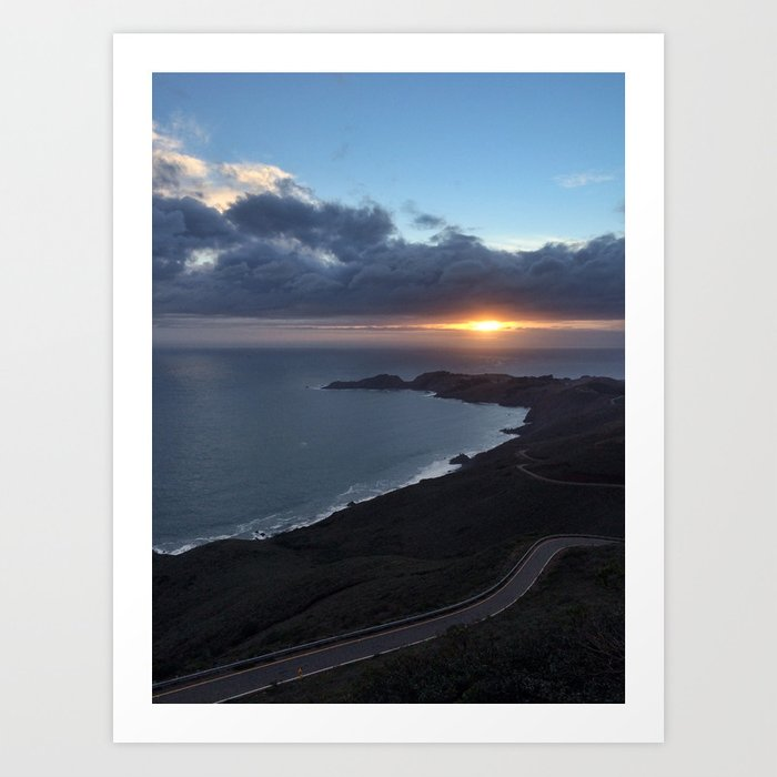 Headlands Art Print