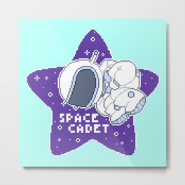 space cadet Metal Print