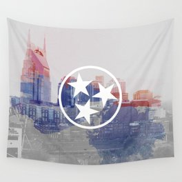 Nashville, Tennessee Wall Tapestry