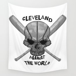 Cleveland Against the World Wall Tapestry
