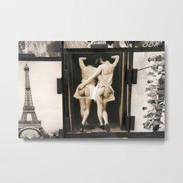 Parisian Mosaic - Piece 1 Metal Print