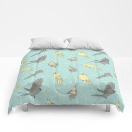 Cockatiel pattern Comforters