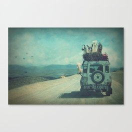 NEVER STOP EXPLORING II SOUTH AMERICA Canvas Print