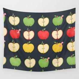 Apple Pattern Wall Tapestry