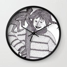 Svenska Flicka  Wall Clock