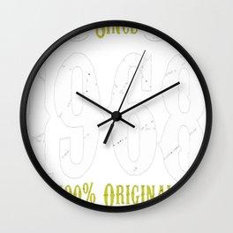 Making History Since 1968 Premium Style Tshirt T-Shirt Wall Clock