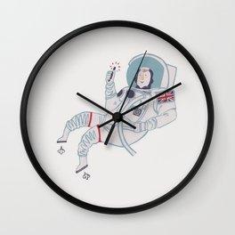 Tim Peake Wall Clock