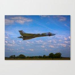 Avro Vulcan flying low Canvas Print