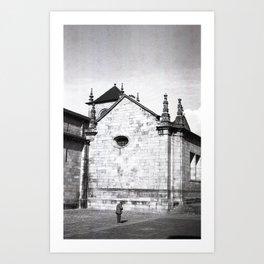 Braga on Film Art Print