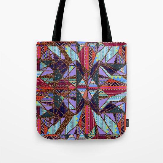RETRO KALEIDOSCOPE //TWO Tote Bag
