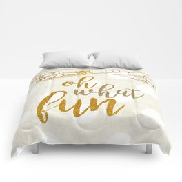 Oh What Fun! Comforters