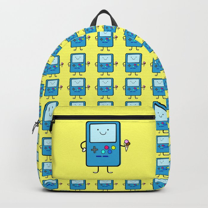 Ice cream lover video game Backpack