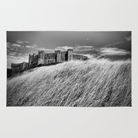 castle Area & Throw Rugs featuring Castle by Mark Nelson