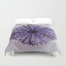 purple urchin I Duvet Cover