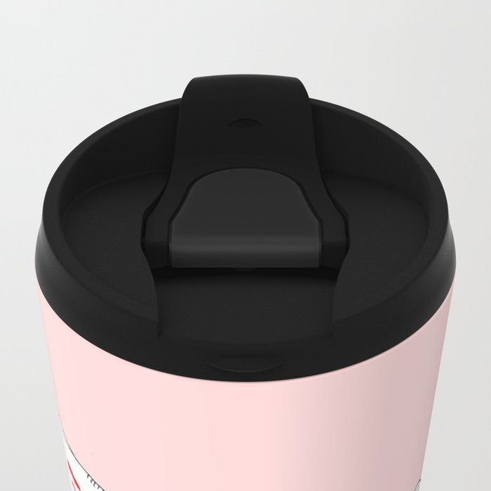 Don't Copy That Floppy Metal Travel Mug